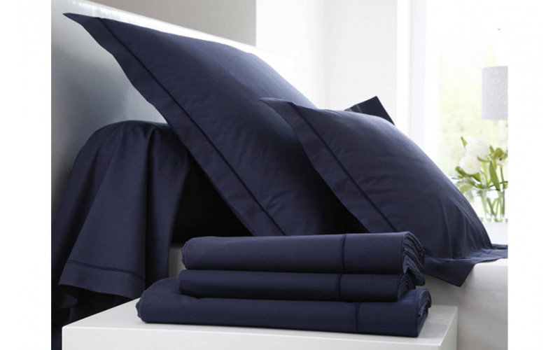 Drap Housse Percale NAvy