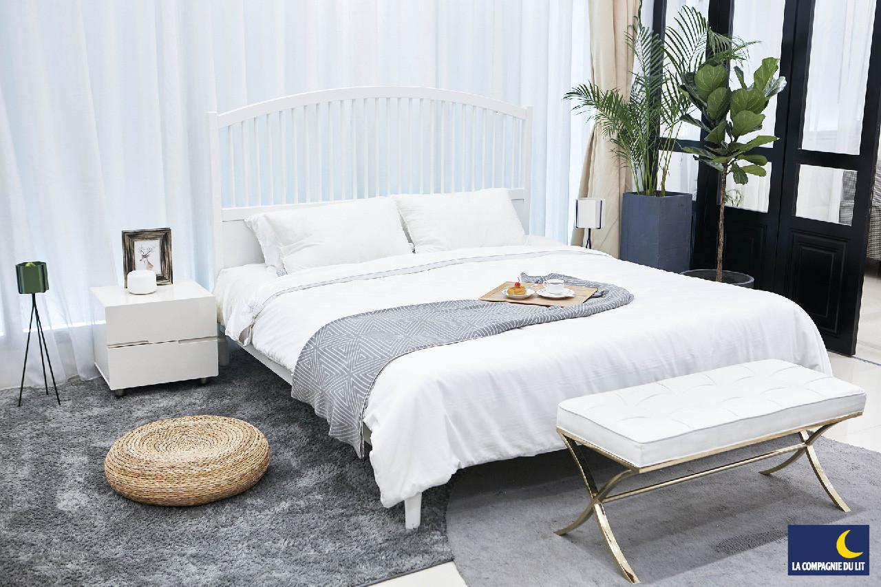 Une chambre épurée et bien aérée pour un sommeil plus serein